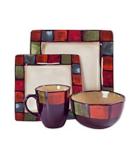American Atelier Hopscotch 16-pc. Dinnerware Set
