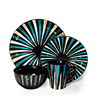 American Atelier Stripes 16-pc. Dinnerware Set