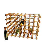 J.K. Adams 40 Bottle Wine Rack Natural