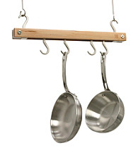 J.K. Adams Bar Pot Rack Mini