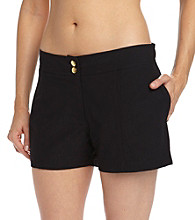 Coco Reef® Solids Black Boardshort Swimwear Bottom