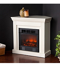 Holly & Martin™ Bastrop Petite Convertible Ivory Electric Fireplace