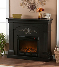 Holly & Martin™ Salerno Electric Fireplace-Black