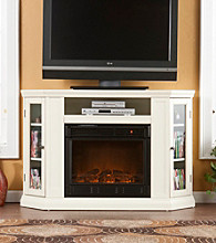 Holly & Martin™ Ponoma Convertible Media Ivory Electric Fireplace
