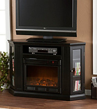 Holly & Martin™ Ponoma Convertible Media Electric Fireplace-Black