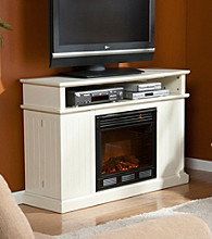 Holly & Martin™ Fenton Media Ivory Electric Fireplace