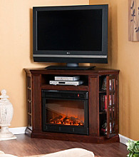 Holly & Martin™ Akita Convertible Media Electric Fireplace-Espresso