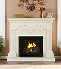 Holly & Martin™ Salerno Gel Fireplace-Ivory