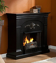 Holly & Martin™ Salerno Gel Fireplace-Black