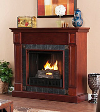 Holly & Martin™ Tavola Gel Fireplace-Cherry