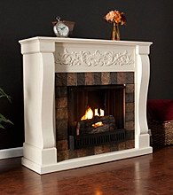 Holly & Martin™ Calgary Gel Fireplace-Ivory