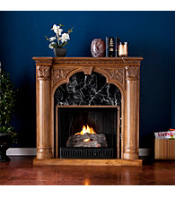Holly & Martin™ Bedford Gel Fireplace-Old World Oak