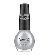 Nicole by OPI Nail Lacquer - Silver Texture