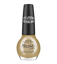 Nicole by OPI Nail Lacquer - Gold Texture