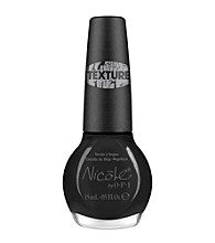 Nicole by OPI Nail Lacquer - Black Texture