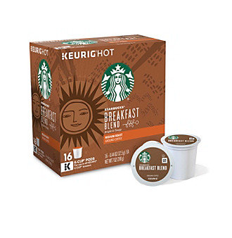 Keurig Starbucks® Breakfast Blend 16-pk. K-Cup® Portion Pack