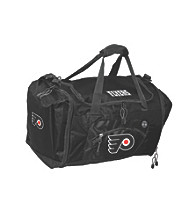 TNT Media Group Philadelphia Flyers Black Roadblock Duffel Bag