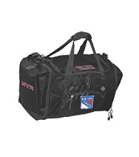 TNT Media Group New York Rangers Black Roadblock Duffel Bag