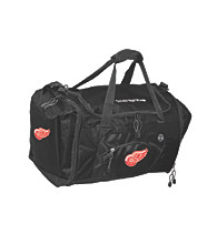 TNT Media Group Detroit Red Wings Black Roadblock Duffel Bag