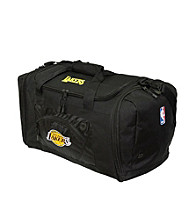 TNT Media Group Los Angeles Lakers Black Roadblock Duffel Bag