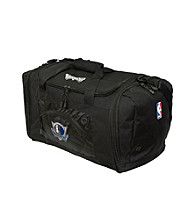 TNT Media Group Dallas Mavericks Black Roadblock Duffel Bag