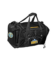 TNT Media Group Denver Nuggets Black Roadblock Duffel Bag