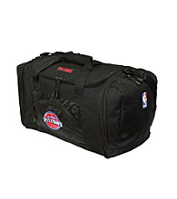 TNT Media Group Detroit Pistons Black Roadblock Duffel Bag