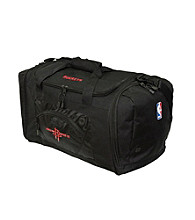 TNT Media Group Houston Rockets Black Roadblock Duffel Bag