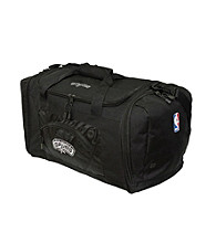 TNT Media Group San Antonio Spurs Black Roadblock Duffel Bag