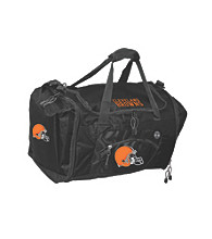 TNT Media Group Cleveland Browns Black Roadblock Duffel Bag