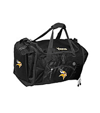TNT Media Group Minnesota Vikings Black Roadblock Duffel Bag