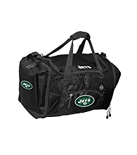 TNT Media Group New York Jets Black Roadblock Duffel Bag