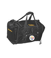 TNT Media Group Pittsburgh Steelers Black Roadblock Duffel Bag