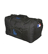 TNT Media Group Los Angeles Dodgers Black Roadblock Duffel Bag