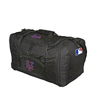 TNT Media Group New York Mets Black Roadblock Duffel Bag