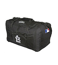 TNT Media Group St. Louis Cardinals Black Roadblock Duffel Bag