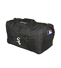 TNT Media Group Chicago White Sox Black Roadblock Duffel Bag