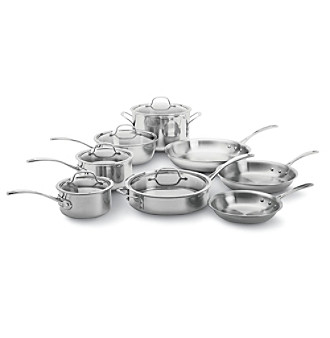stainless steel tri ply cookware