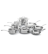 Calphalon® Tri-Ply Stainless Steel 13-pc. Cookware Set