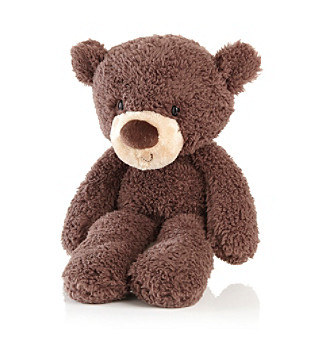 "GUND® ""Fuzzy"" Chocolate Teddy Bear"