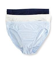 Jockey® Stay Cool 3-pk. Hi-Cut Panties - Blue