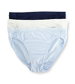 Jockey® Stay Cool Hi Cut - 3 Pk.