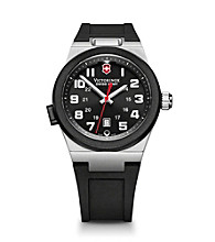 Victorinox® Swiss Army® Men's Night Vision II Watch - Stainless Steel/Black