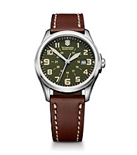 Victorinox® Swiss Army® Men's Infantry Watch - Green Vintage