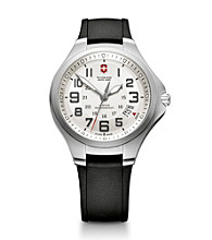 Victorinox®Swiss Army ® Men's Large Base Camp Watch - Silver
