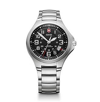 Victorinox® Swiss Army® Men's Large Base Camp Watch - Black