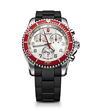 Victorinox® Swiss Army® Men's Maverick GS Chrono Dial Watch - Silver