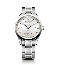 Victorinox® Swiss Army® Men's Alliance Watch - Silver