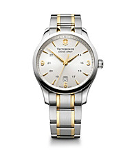 Victorinox® Swiss Army® Men's Alliance Watch - Silver/Gold