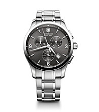 Victorinox® Swiss Army® Men's Alliance Chrono Stainless Steel Watch